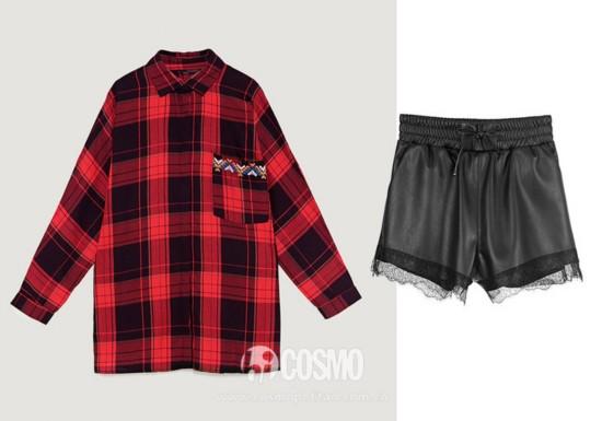 上衣来自Zara 售价299元 可从品牌官网购买