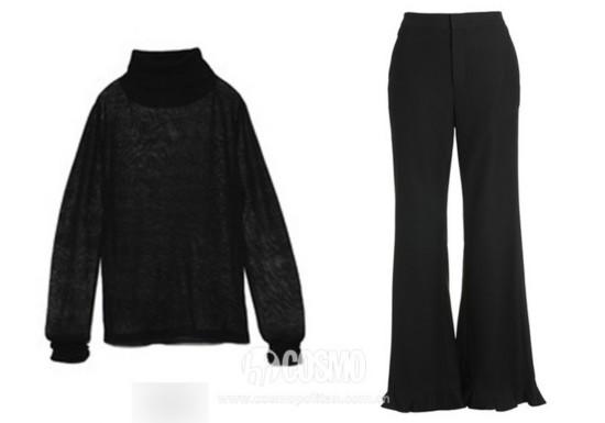 上衣来自JNBY 售价198元 可从品牌官网购买
