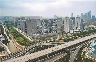 2020年南京河西科技新城技工贸收入将达500亿