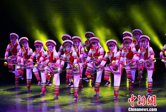 第四届丝绸之路国际艺术节开幕百余国家和地区参与