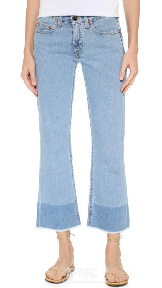 牛仔裤来自Victoria Beckham 售价1576元 可从美国Shopbop购买