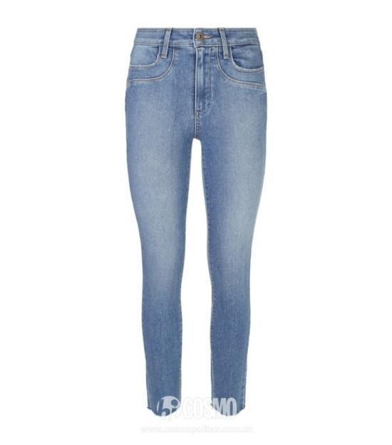 牛仔裤来自Paige 售价2446元 可从英国Harrods购买