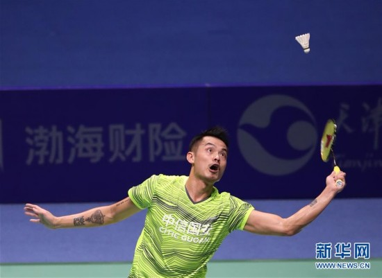 羽毛球――男子单打:林丹夺冠(组图)