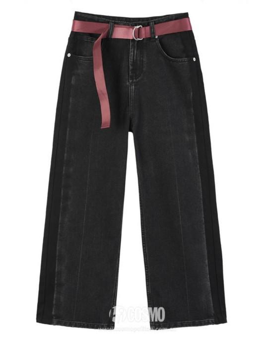 牛仔裤来自PEACEBIRD 售价399元 可从品牌官网购买