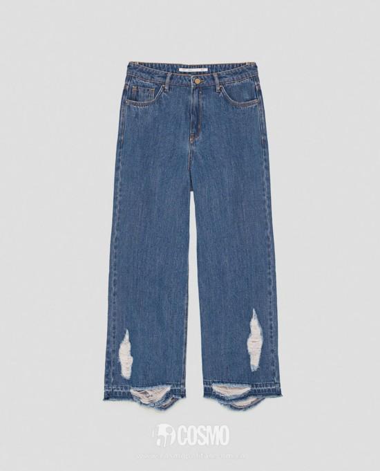 牛仔裤来自ZARA 售价199元 可从品牌官网购买