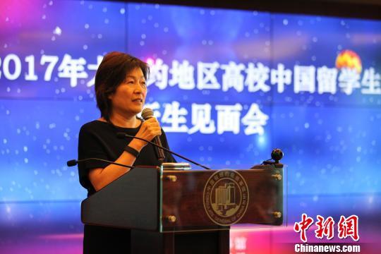 中国驻纽约总领馆举行留学生新生见面会