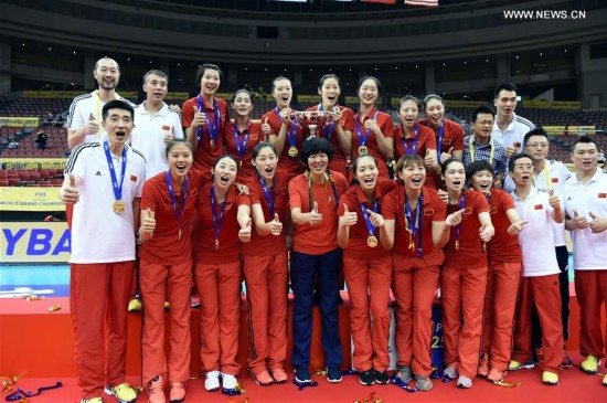 (SP)JAPAN-NAGOYA-VOLLEYBALL-FIVB-WOMEN'S GRAND CHAMPIONS CUP-CHINA