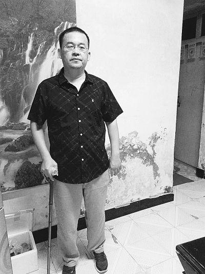 南京溧水教师邹余贵:左腿高位截肢后重回讲台