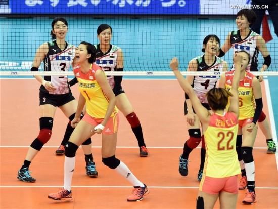 (SP)JAPAN-NAGOYA-VOLLEYBALL-FIVB-WOMEN'S GRAND CHAMPIONS CUP-CHINA