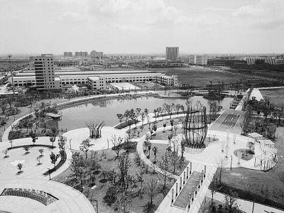 南京浦口新添市民公园 营造绿化空间景观效果