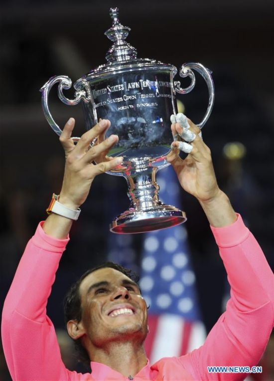 Rafael Nadal claims title at US Open Men's singles