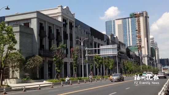 福州南街商业项目有望明年7月开业 定位为时尚精品街区