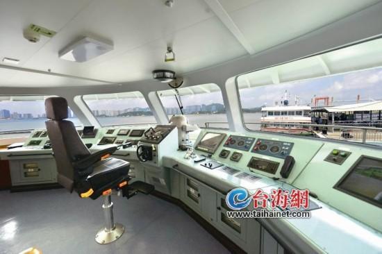 厦门轮渡新客船预计国庆投用 超豪华客船带你环游鼓浪屿
