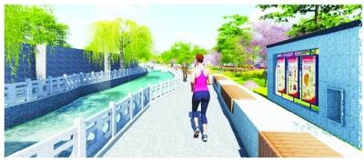 南门遗址公园景观功能提升效果图