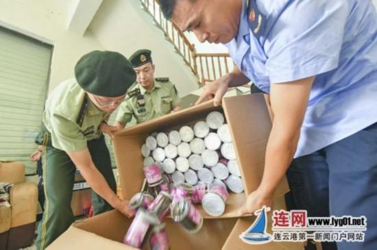 连云港查处非法海鲜加工点 具体情况在调查中