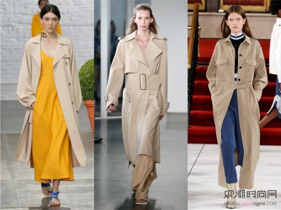 2017秋冬女装流行趋势-正儿八经的靠谱秋装,一定非驼色风衣莫属