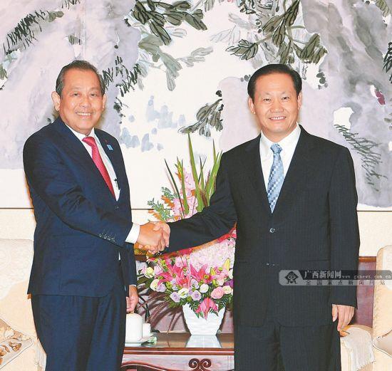 彭清华会见越南常务副总理张和平