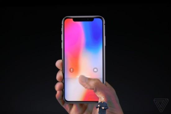 这就是未来手机 苹果iPhone X正式发布