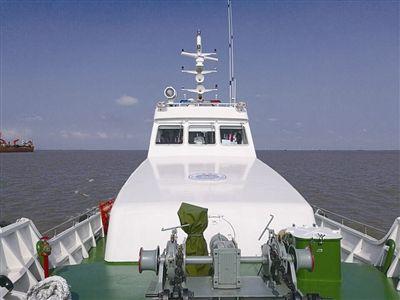 航速最快 南通海门首艘190吨级渔政执法船巡航