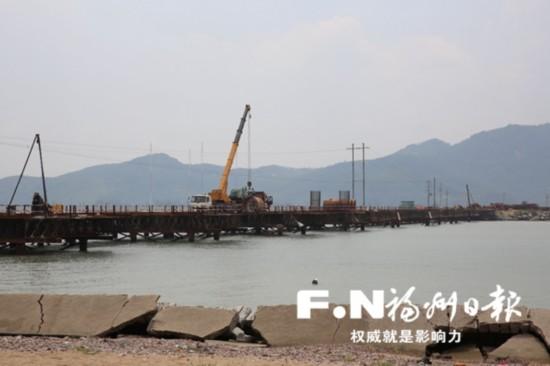 """老党员带头捐资 连江县壶江孤岛建起""""连心桥"""""""