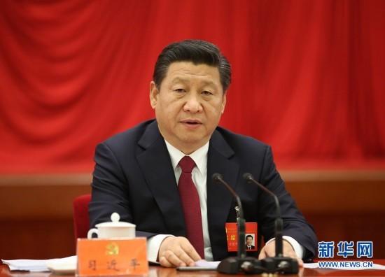 中国共产党第十八届中央委员会第四次全体会议,于2014年10月20日至23日在北京举行。习近平总书记作重要讲话。(图片来源:新华社)