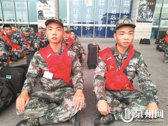 泉州:实现从军梦想 双胞胎进藏戍边