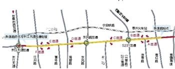 泰州站前路快速化建设工程将于年内开工