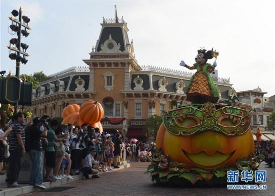 """香港迪士尼乐园推出""""万圣节""""特别活动"""