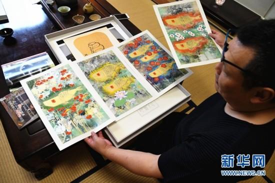 从沂蒙山到富士山的旅日中国画家王传峰