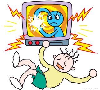 用漫画解析电的基础常识图片