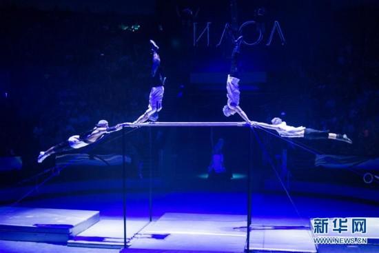第五屆世界馬戲節在莫斯科落幕