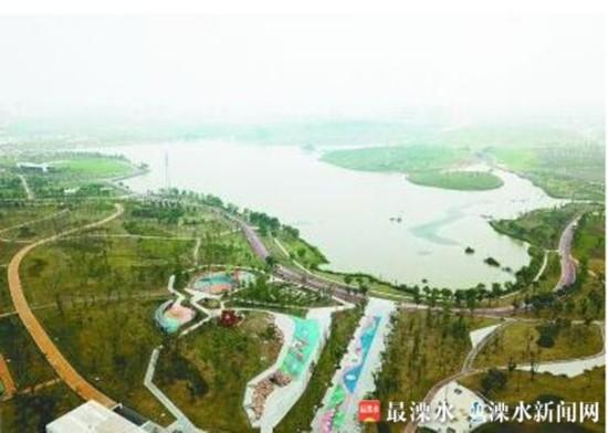 南京溧水高标准建10个公园 幸庄湿地初步建成