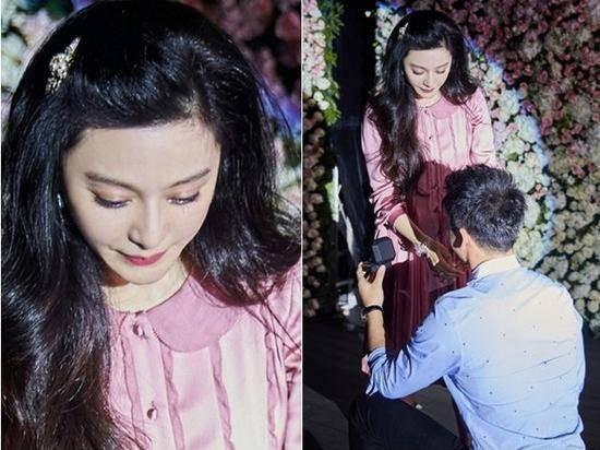 范冰冰36岁生日李晨求婚成功 范冰冰罕见素颜照曝光女神从小美到大