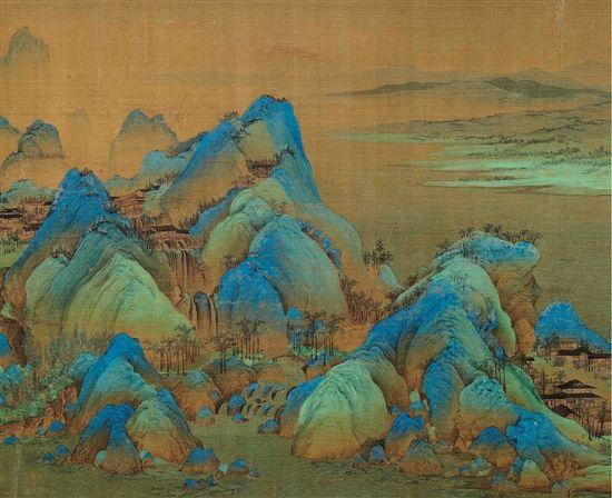 历代青绿山水画特展 在京开展