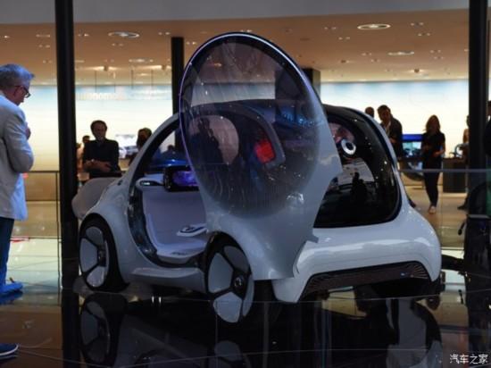 smart smart Vision EQ fortwo 2018款 Concept