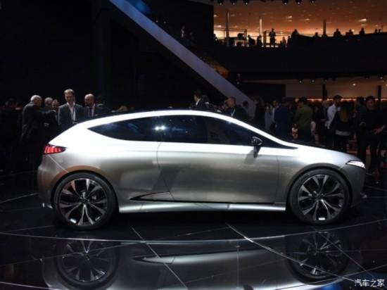奔驰(进口) 奔驰EQ A 2017款 Concept