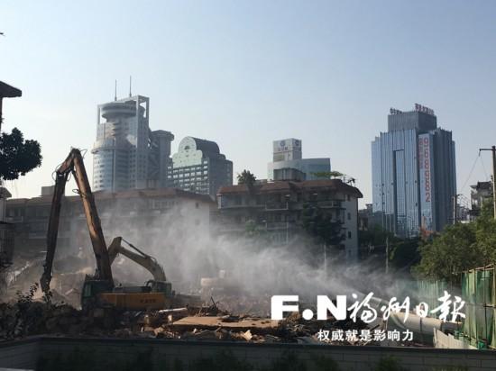 福州泮洋河水系综合治理征迁项目提前11天交地
