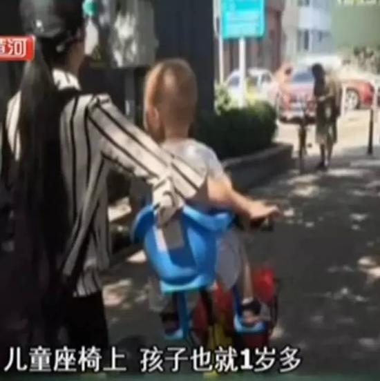 共享单车的儿童座椅竟暗藏风险 家长要小心