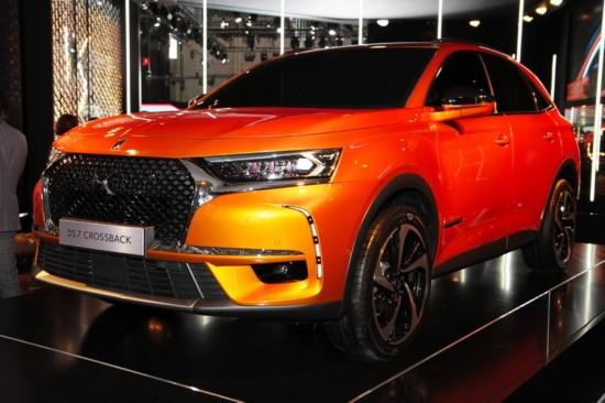 DS首款纯电动SUV预计2018年问世 2019年上市