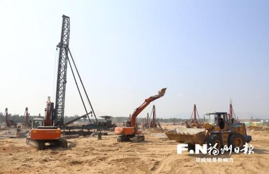 福州集中开工181个项目 第三季度共开工289个项目