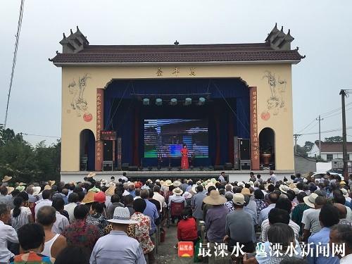南京溧水狮子山灵隐寺庙会举行 上演戏曲演出