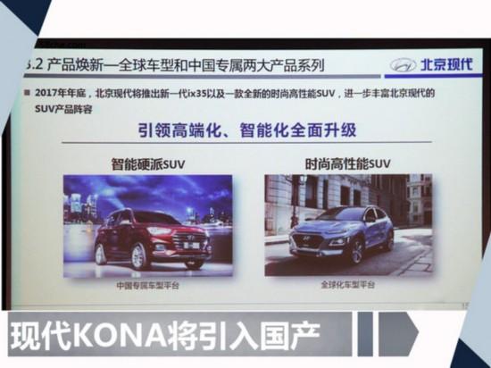 北京现代全新小SUV年内发布 首搭1.0T发动机-图1