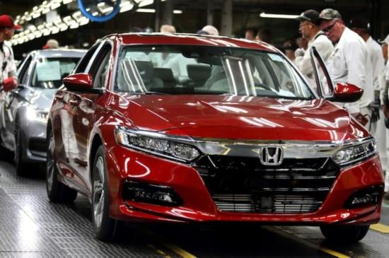 本田投资2.67亿美元在美正式投产全新雅阁