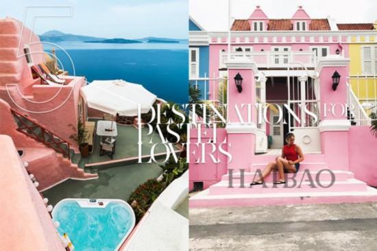 粉色控请注意!这5个地方都有让粉色控疯狂的景点,要赶快为下次旅行做好计划了!