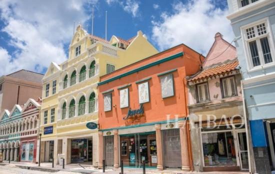 让粉色控疯狂的5个景点之四:库拉索岛,加勒比海(Cura ao, Caribbean)
