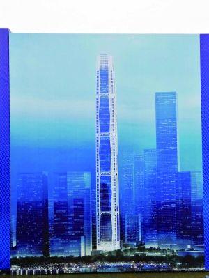南京江北开建江苏第一高楼 总高度550米
