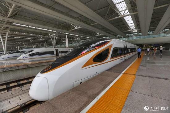 京沪高铁 复兴号 开跑 350 北京到上海仅需4个半小时