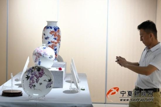 中国陶瓷精品艺术全球巡展银川站在银川美术馆举行