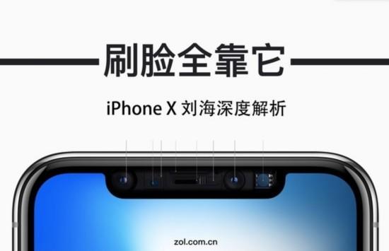 """iPhoneX""""刘海""""深度解析:刷脸全靠它"""
