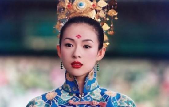 赵丽颖热巴林心如章子怡 盘点当红女明星古装造型谁额头戴花最美?